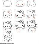 apprendre dessiner kitty