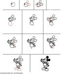 apprendre a dessiner mickey mouse