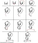 comment dessiner titi