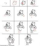 apprendre a dessiner winnie l ourson
