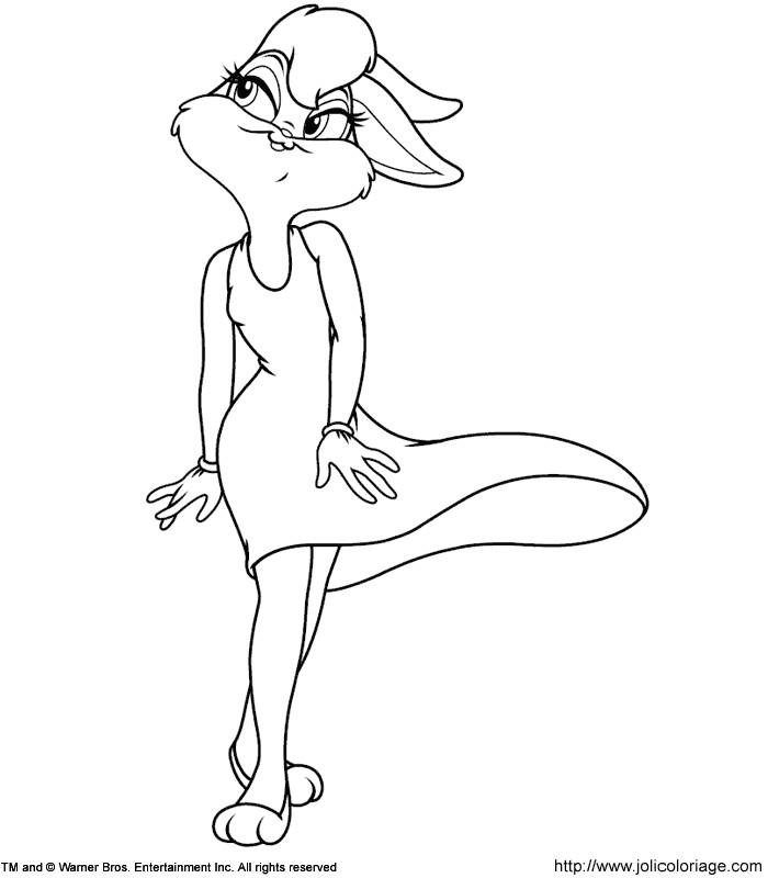 Ausgezeichnet Lola Und Bugs Bunny Malvorlagen Bilder ...